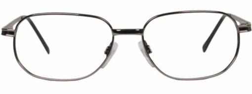Beaune gunmetal eyeglass frames