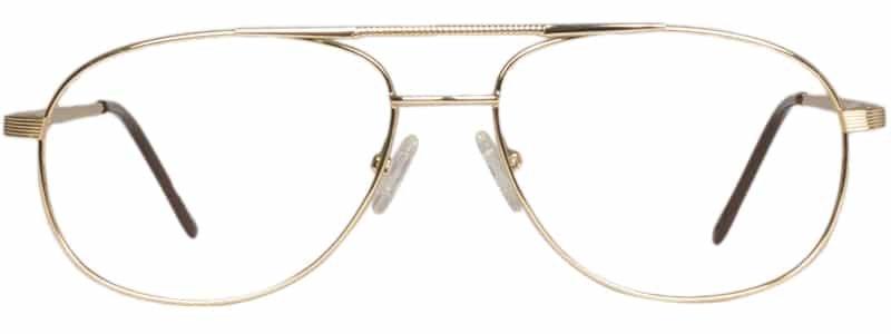 Belize gold eyeglass frames