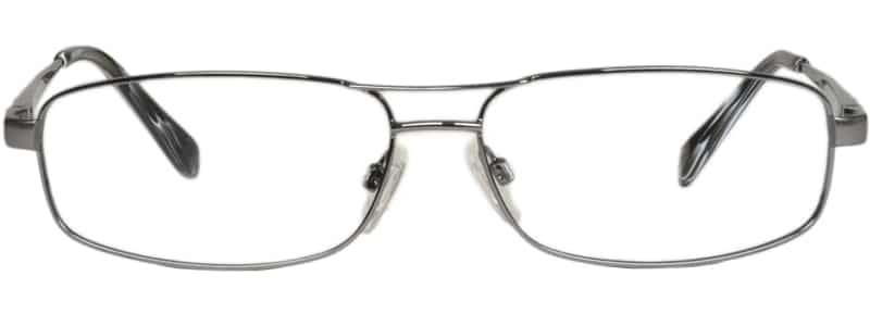 Blackburn gunmetal eyeglass frames