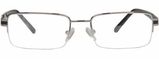 Boone black gunmetal eyeglass frames