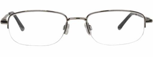 Borsa gunmetal silver eyeglass frames