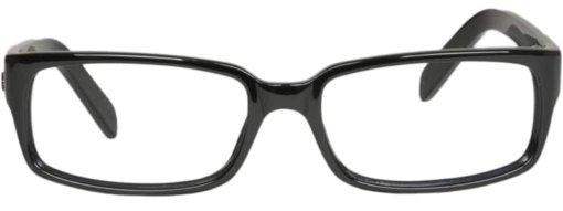 Brewton black eyeglass frames