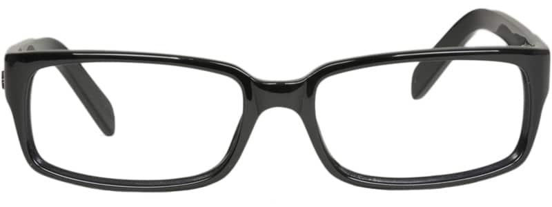 Brewton black eyeglass frames