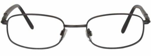 Brooklyn matte black eyeglass frames